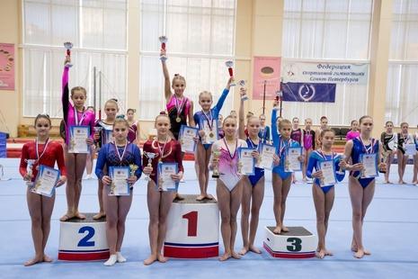 Гимнастки района стали лидерами городских соревнований